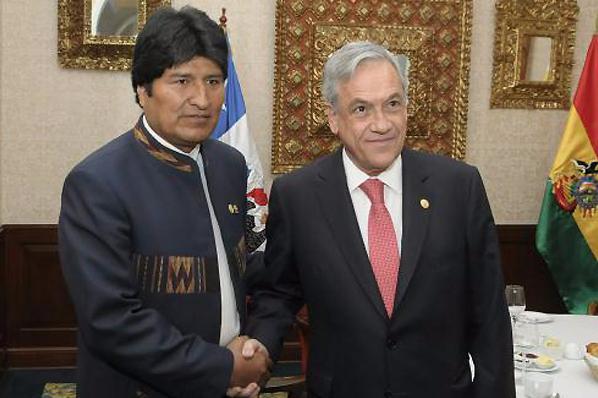 """Evo Morales felicita a Piñera: """"Confiamos en que prevalecerá el reencuentro entre Chile y Bolivia"""""""