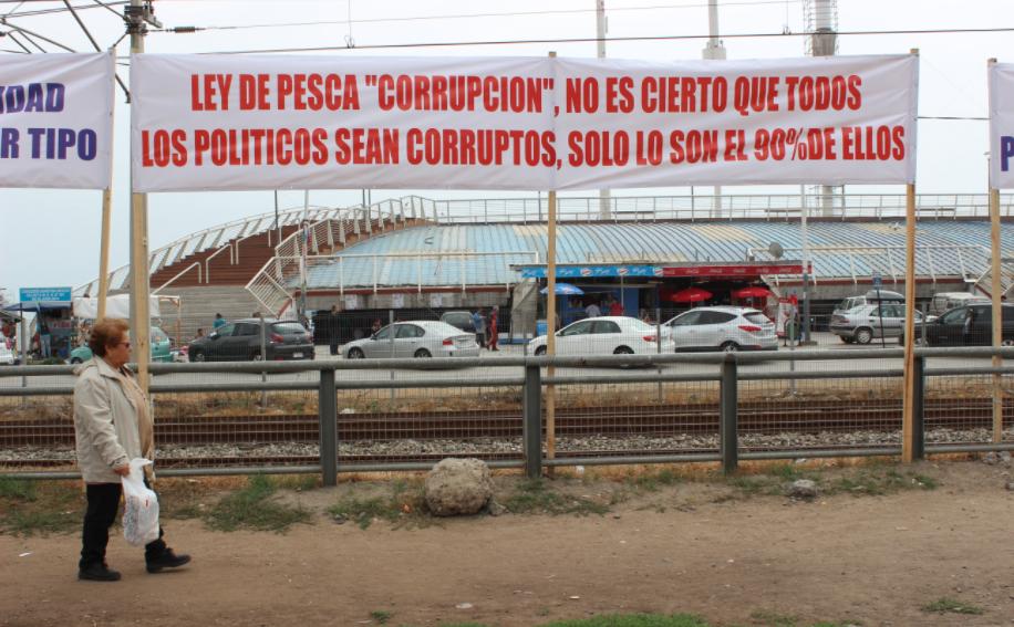 Pescadores advierten a Piñera radicalización de manifestaciones si no se anula Ley de Pesca