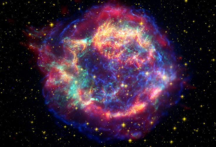Científicos logran determinar cuáles son los elementos contenidos en una supernova
