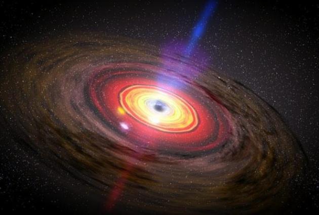 Científicos detectan el agujero negro supermasivo más antiguo del universo