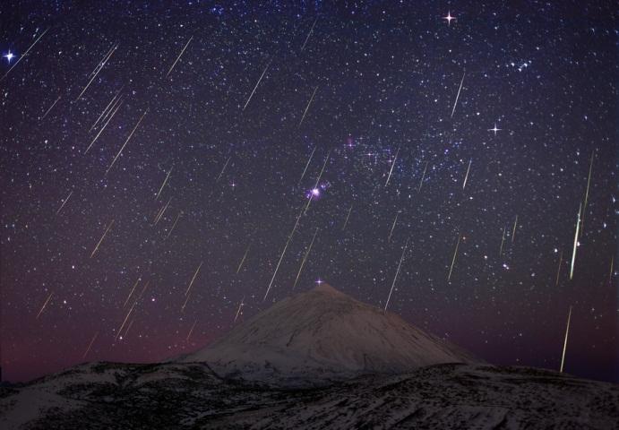 Esta noche es perfecta para ver las Gemínidas, la más importante lluvia de meteoros del año