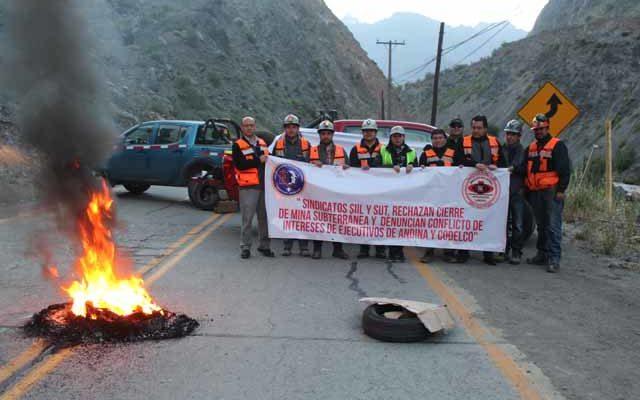 Denuncian conflicto de interés tras anuncio de cierre de mina subterránea en la División Andina de Codelco