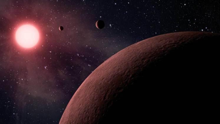 Sistema planetario descubierto hace poco por la NASA tiene la misma cantidad de planetas que el nuestro
