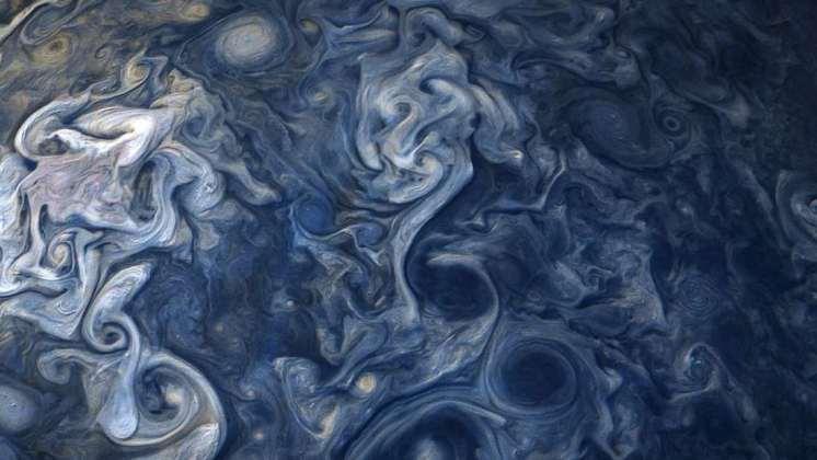 Las tormentas de Júpiter como nunca las habías visto