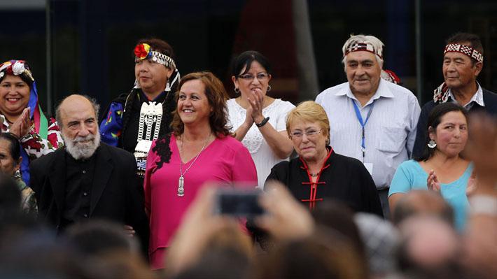 En Temuco, Bachelet llamó a no «apresurar conclusiones» sobre la Operación Huracán