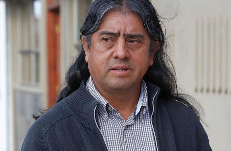 """Aucan Huilcaman: """"Denunciaremos ante la OIT todas y cada una de las ilegalidades del Estado de Chile"""""""