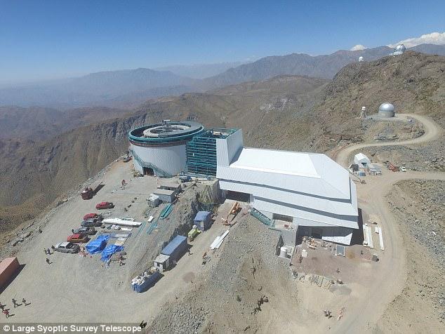 """""""Gran Telescopio"""" que se construye en Chile tendrá cámara de 3.2 gigapíxeles y será uno de los más poderosos del mundo"""