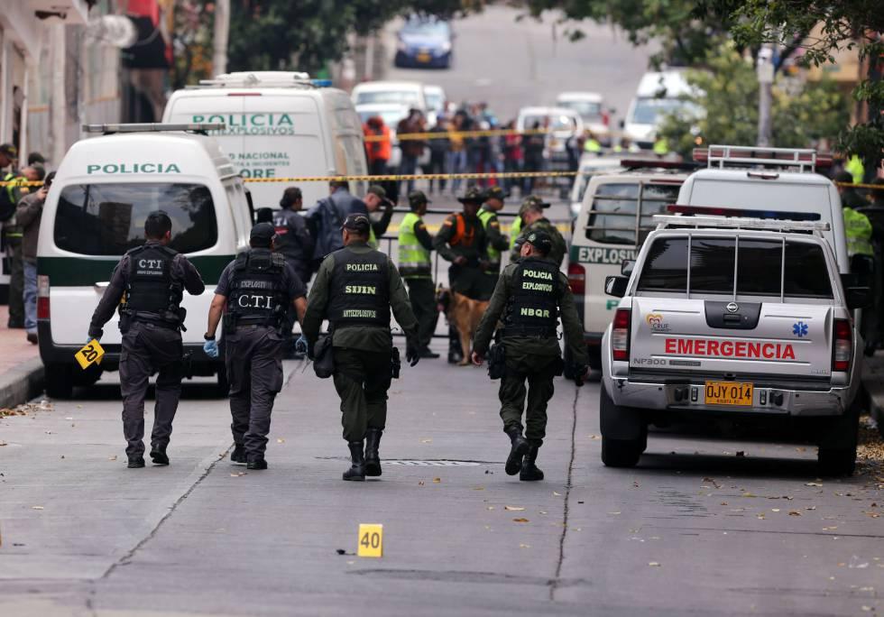 Colombia: La policía sufre tres atentados en 24 horas