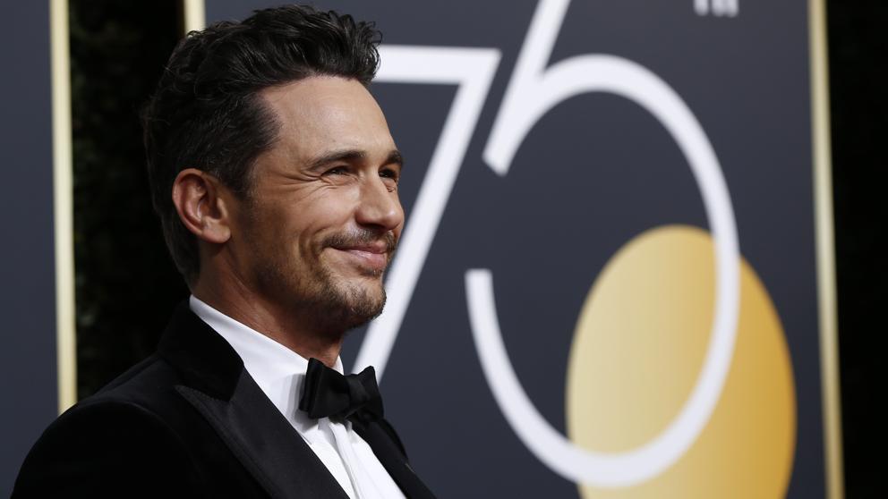 #MeToo: James Franco es acusado de acoso por tres actrices tras ganar el Globo de Oro