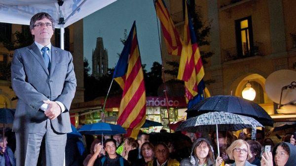 Puigdemont exige al gobierno de España la liberación de los políticos catalanes