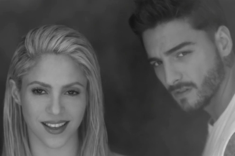 Shakira lanzó nuevo y sensual video con Maluma