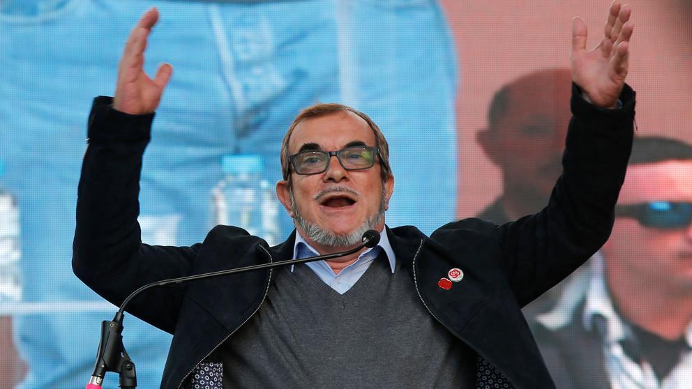 Colombia: Timochenko lanza su candidatura a presidente