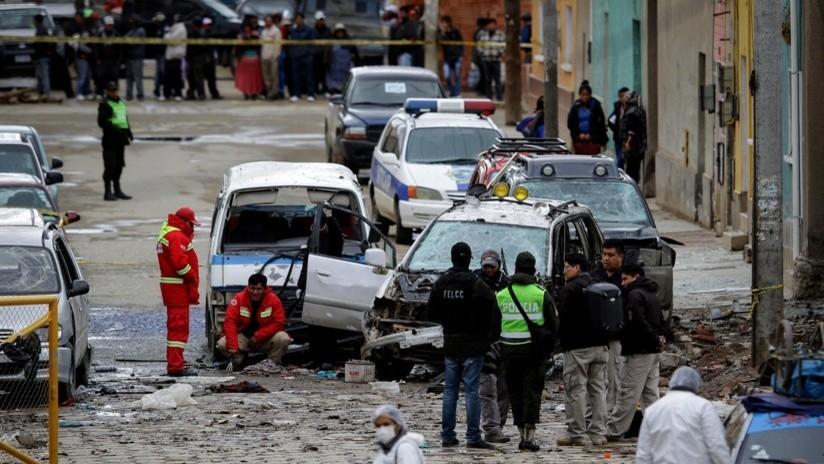 Bolivia: impiden que se produzca una tercer explosión en una semana