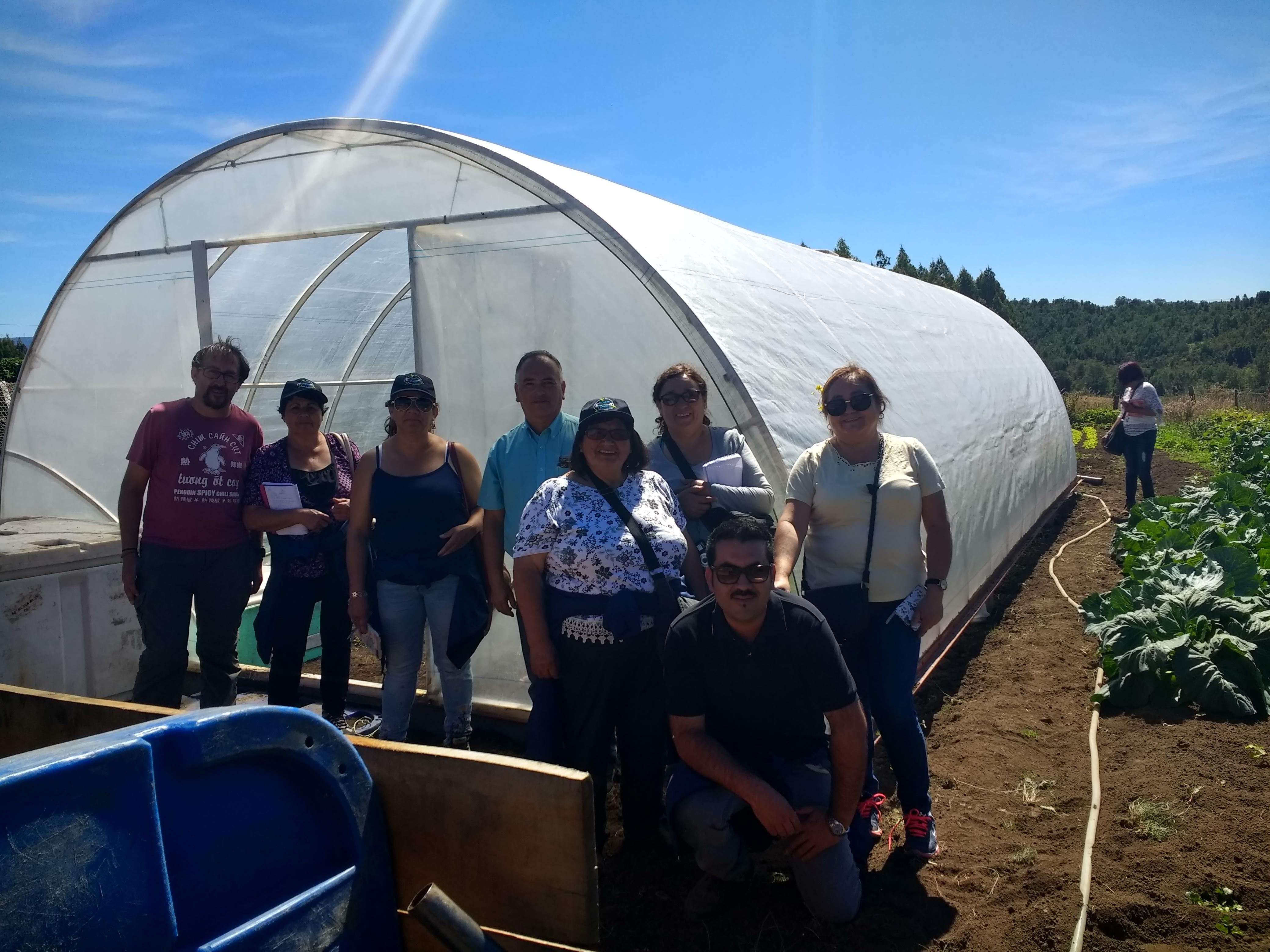 Campesinos de Cabildo viajaron a Chiloé para recoger nuevas experiencias agrícolas
