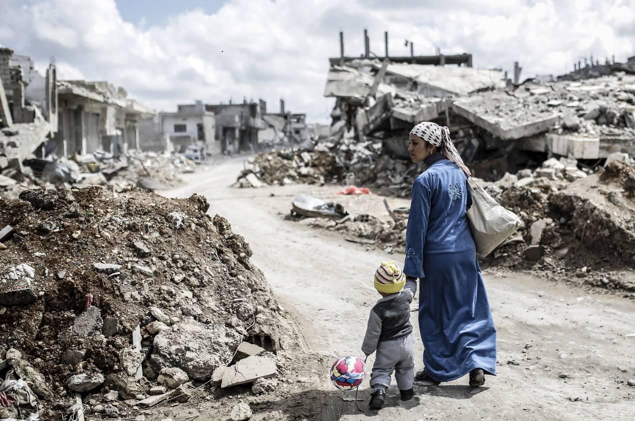 Las marcas de la guerra: Un millón de sirios sufren trastornos mentales graves