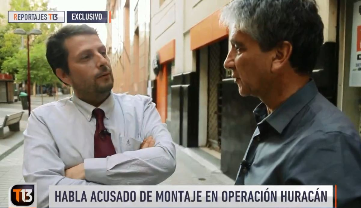 ¿En su propia trampa?: Canal 13 se distancia de versión policial en Operación Huracán y se suma a cuestionamientos