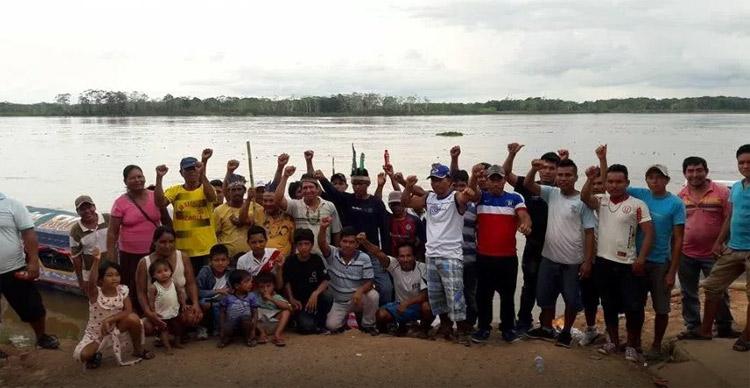 """""""No queremos más actividades petroleras irresponsables»: Indígenas inician bloqueo de ríos por 72 horas en Perú"""