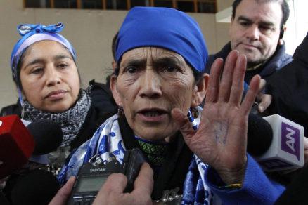 Machi Francisca Linconao no pudo votar por estar
