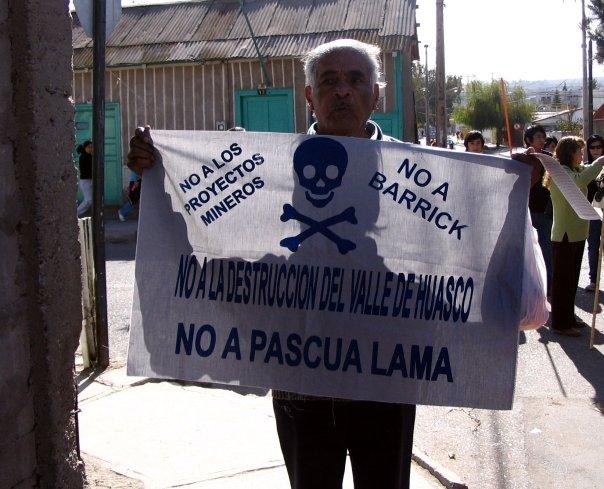 Comunidades del Valle del Huasco exigen paralización inmediata de sondajes y revocar beneficios tributarios entregados a Barrick Gold