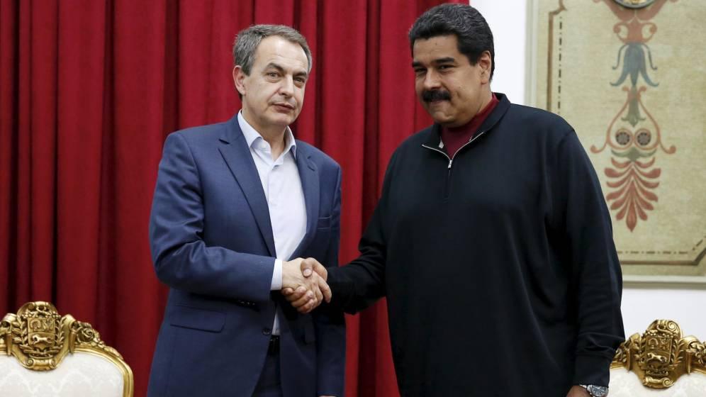Venezuela: Zapatero le solicita a la oposición que firme el acuerdo «pensando en la paz»