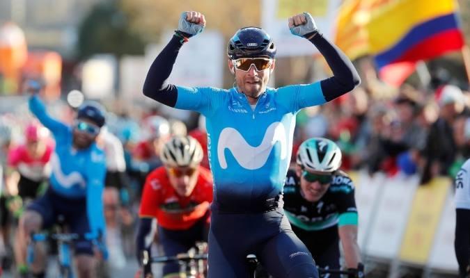 Valverde triunfó en el Gran Premio Miguel Induráin de España