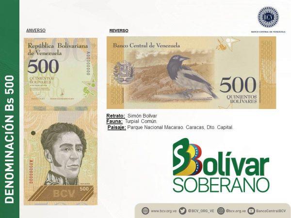 Venezuela anuncia nuevo cono monetario