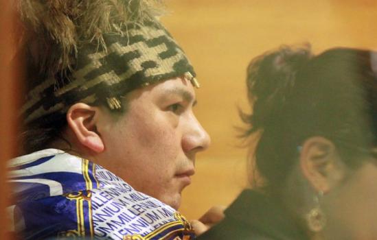 El pronunciamiento de la Red de apoyo del machi Celestino Córdova por los 60 días en huelga de hambre del líder mapuche