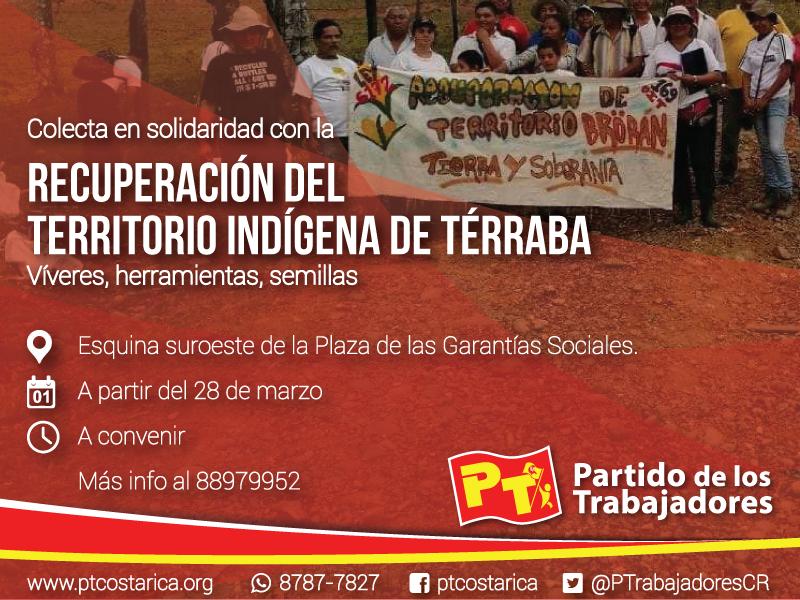 Pueblos indígenas de Térraba recuperan sus tierras
