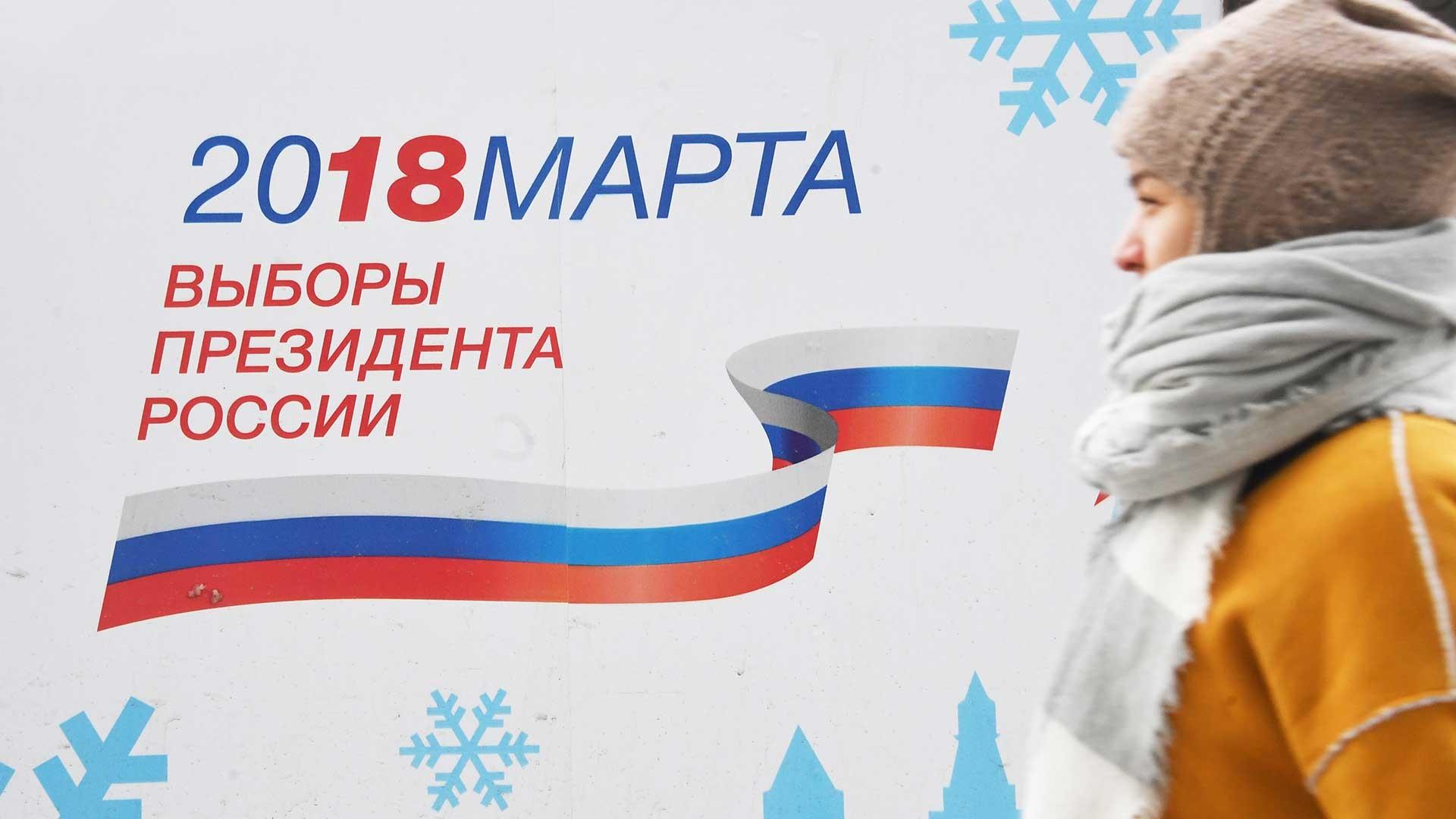 Wladimir Putin se mide por la Presidencia de la Federación Rusa