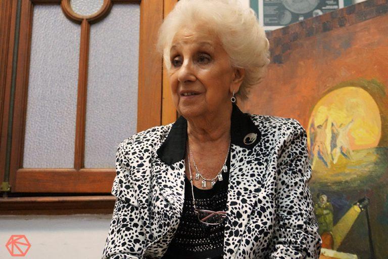 """Entrevista a Estela de Carlotto, presidenta de Abuelas de Plaza de Mayo: """"No hay democracia plena hasta que se sepa la verdad de los más de 300 nietos que nos faltan recuperar"""""""