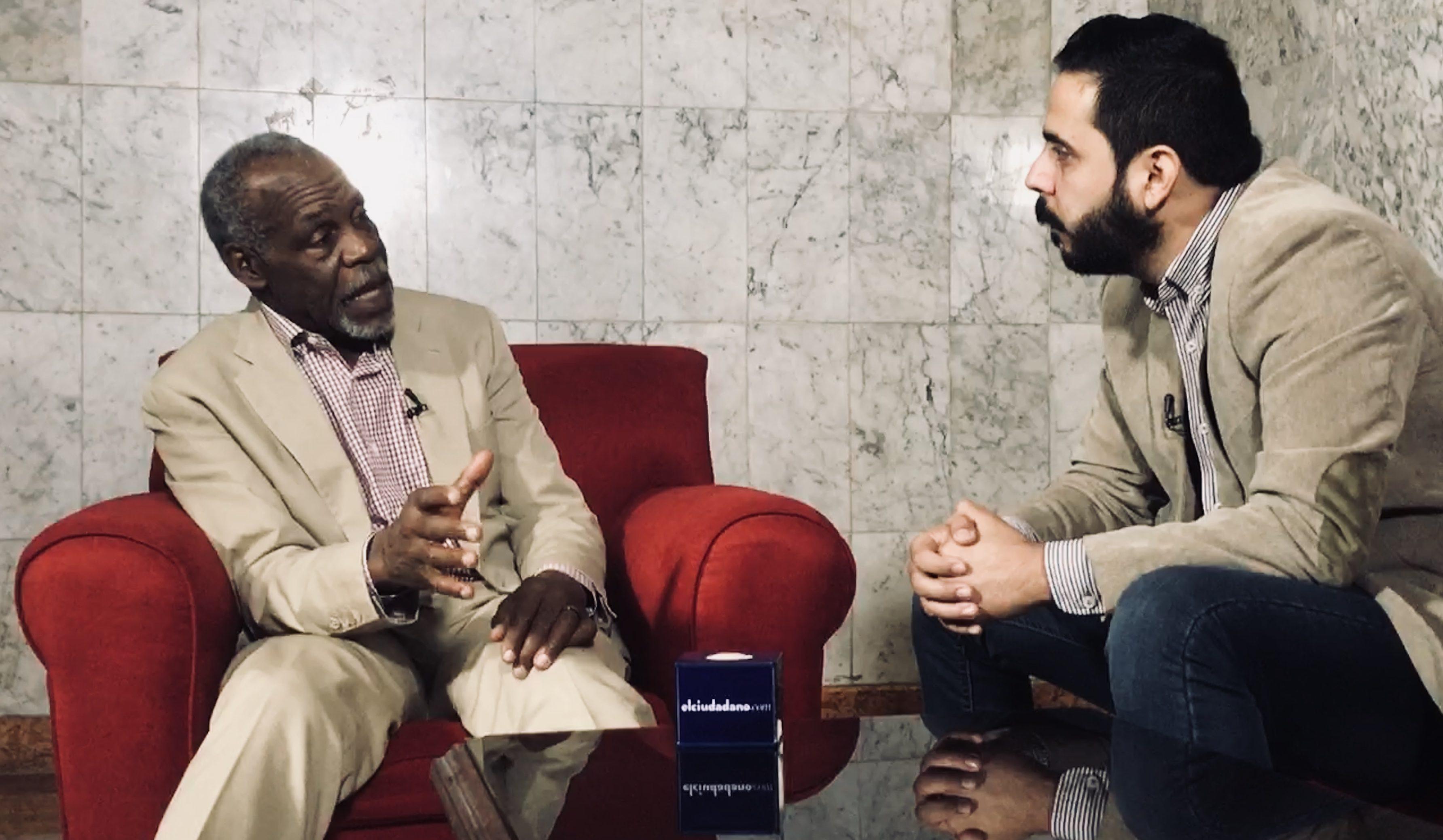 Estuvimos con Dany Glover, invitado a la firma del Decenio Internacional para los afrodescendientes 2015-2025