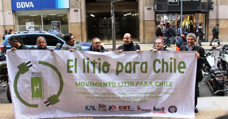Movimiento Litio para Chile rechaza aprobación del aumento de cuota de litio a Soquimich