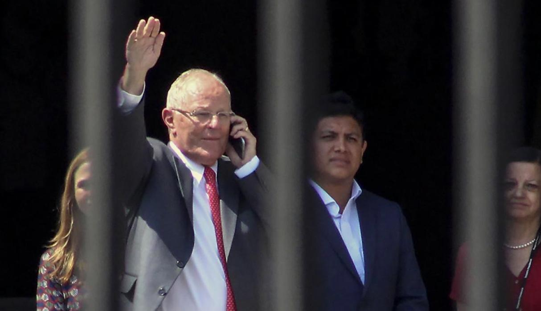 Allanaron propiedades de expresidente peruano