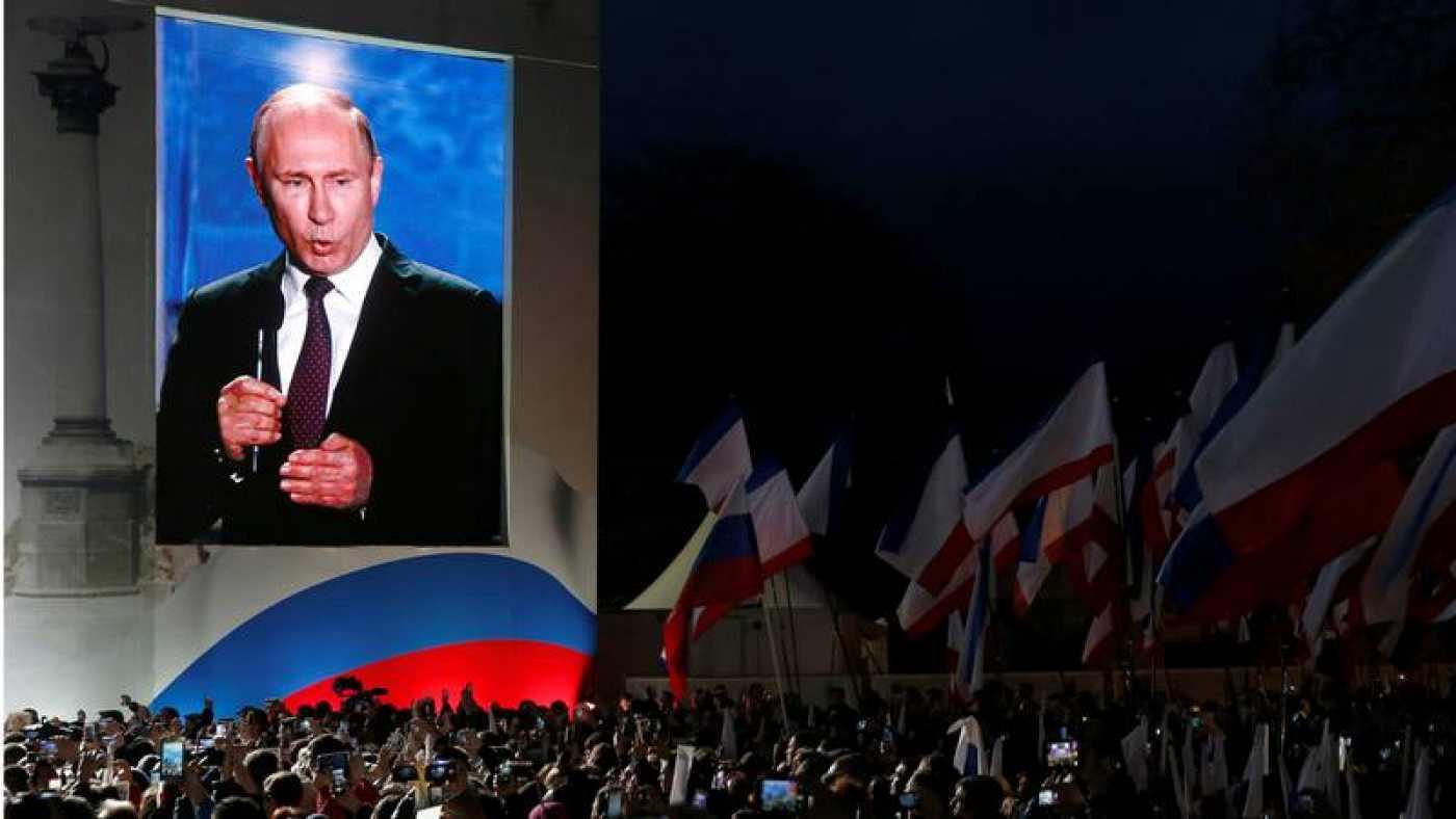 Poroshenko no reconoce elecciones en Crimea y pide a Erdogan hacer lo mismo