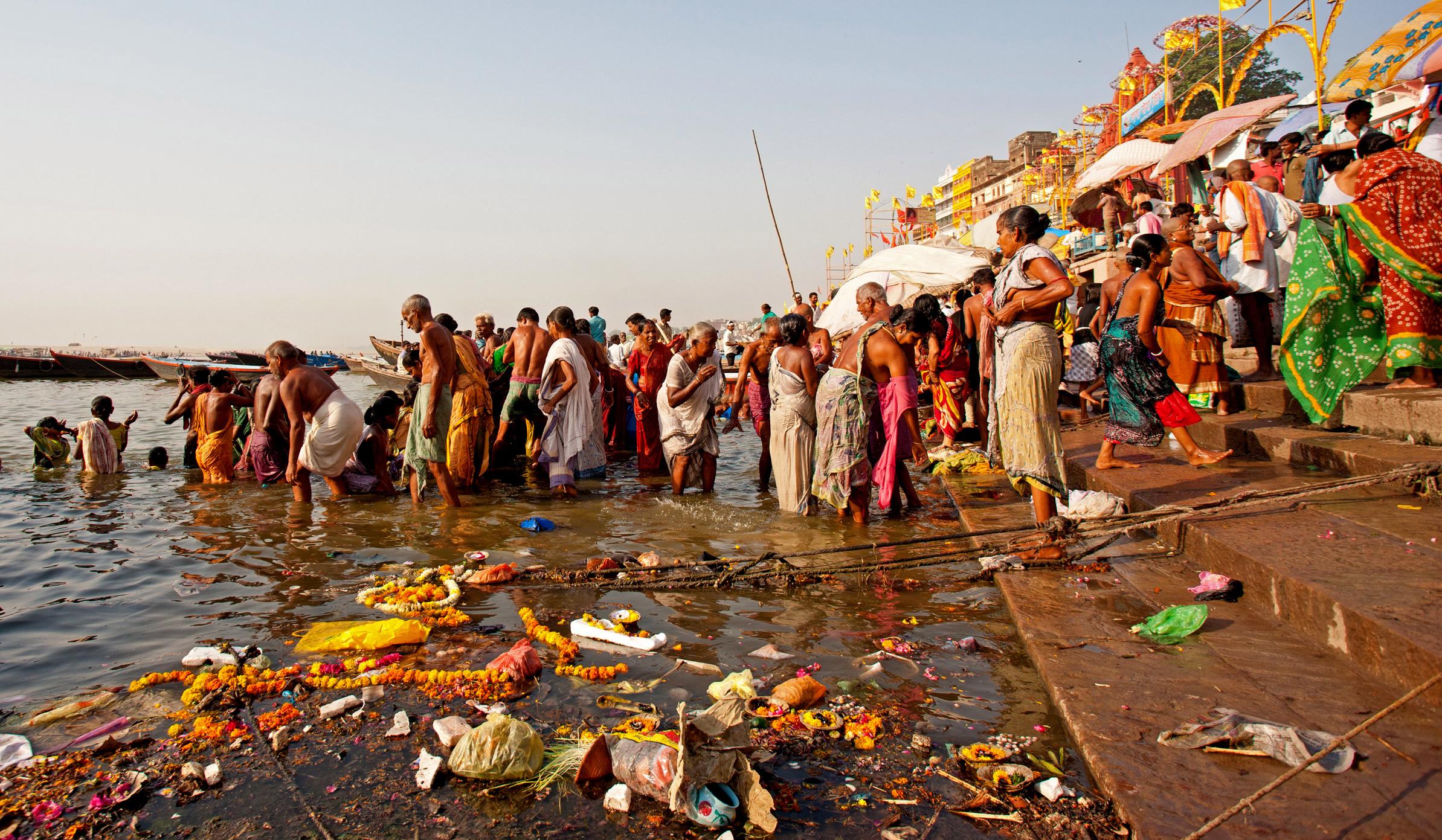 Ganges: un río sagrado pero contaminado