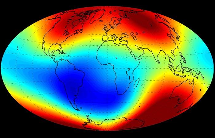 Científicos chilenos descubren una relación entre los campos magnéticos y los sismos