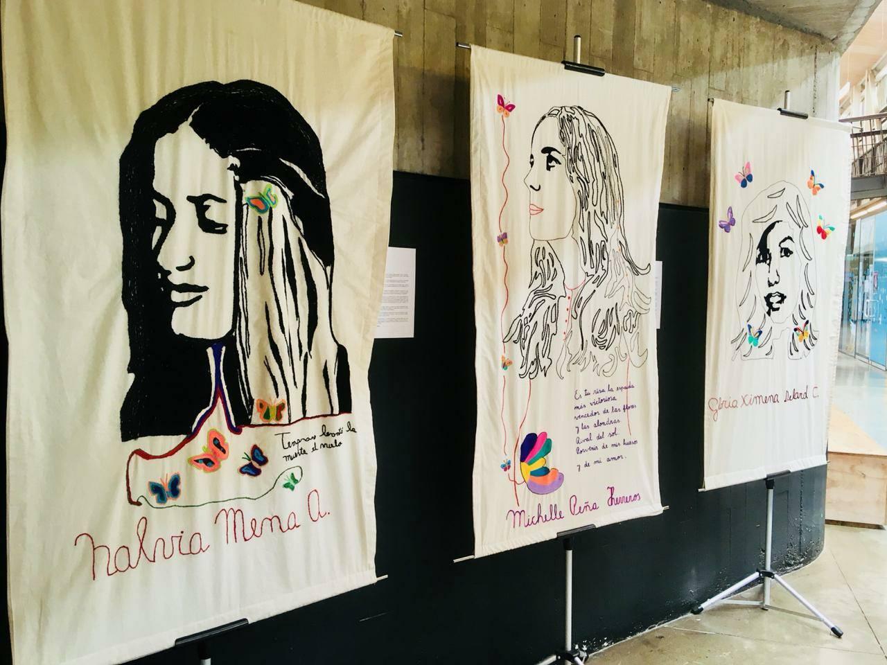 Bordadoras de la Memoria reconstruyen el rostro de 12 mujeres embarazadas desaparecidas por la dictadura