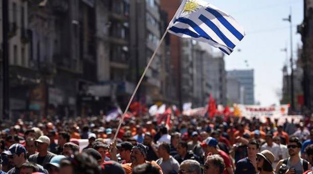 """Central Obrera de Uruguay tras paro nacional: """"Lucha de clase ante la agudización de la disputa de dos grandes proyectos de país"""""""