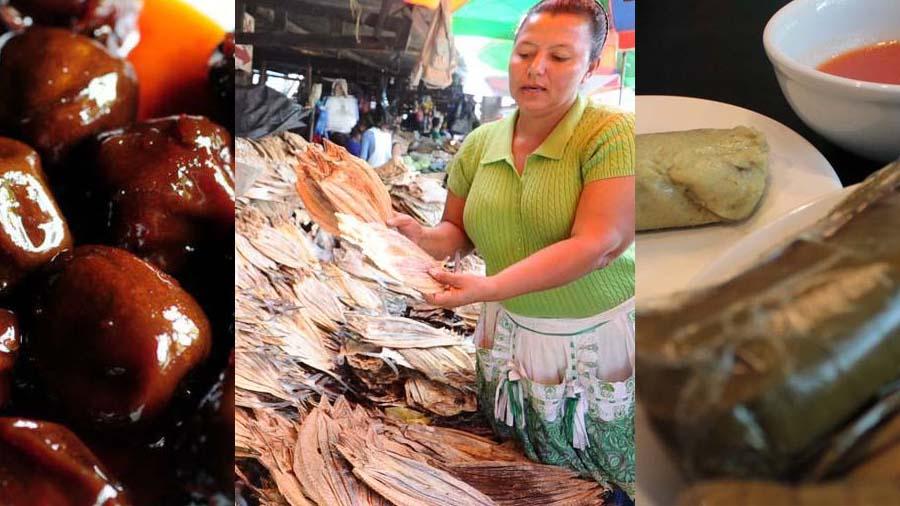 Comidas tradicionales del Salvador