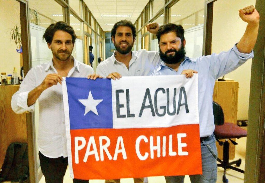 #AguaParaLosPueblos: La manifestación de los diputados del Movimiento Autonomista en el Congreso