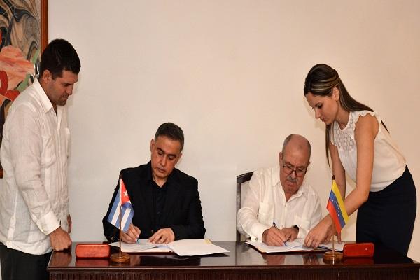 Cuba y Venezuela firman acuerdo de cooperación judicial