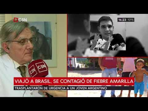 Confirmado: Mueren 2 argentinos a causa de la fiebre amarilla