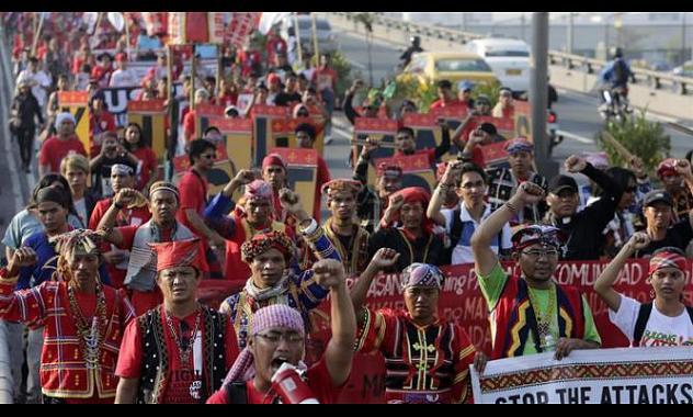Dirigentes indígenas filipinos son víctimas de persecuciones