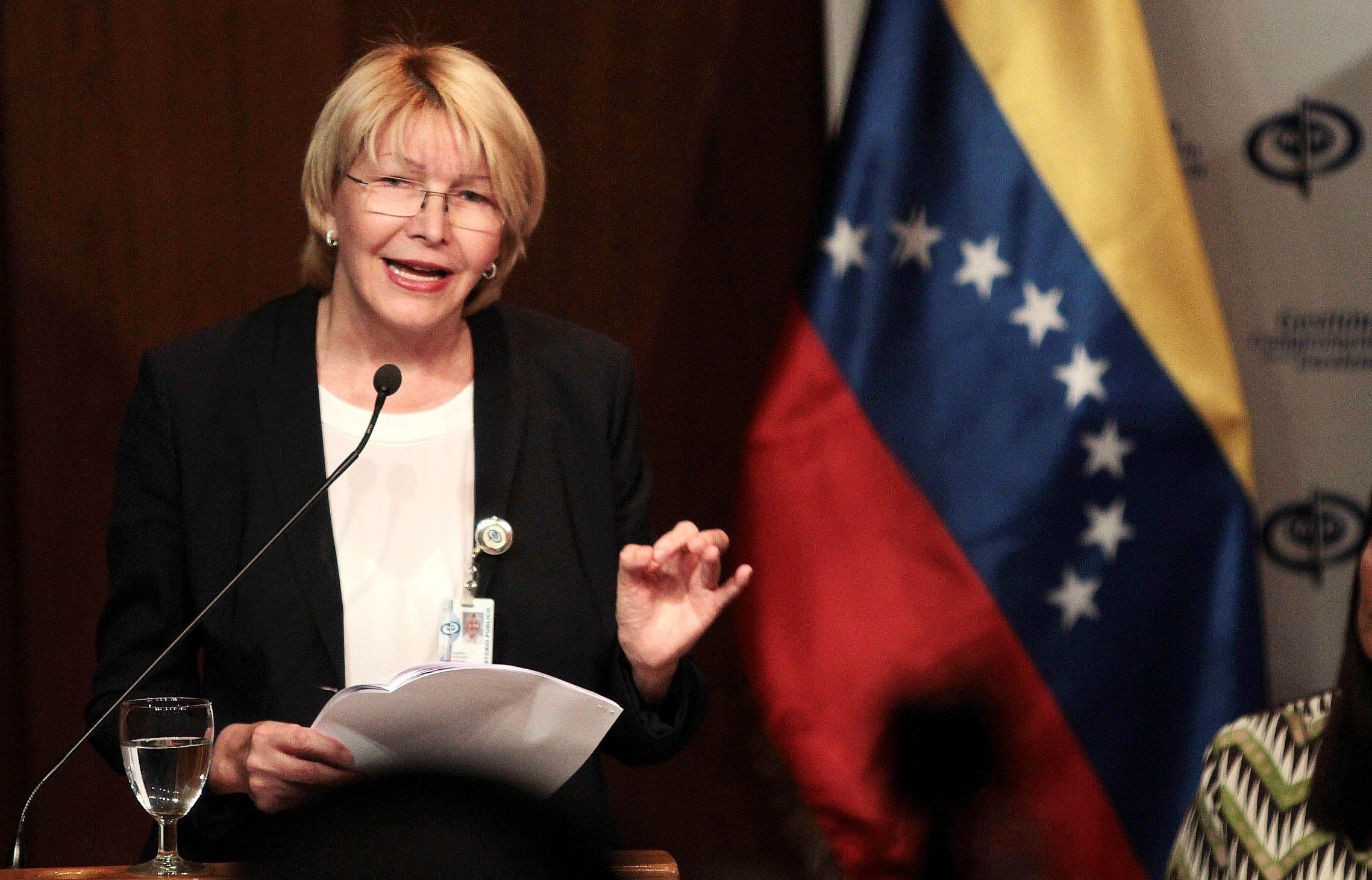 Venezuela solicitará captura internacional de exfiscal Luisa Ortega Díaz