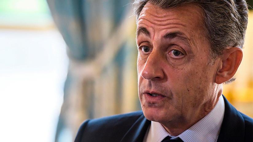 Francia: detienen al expresidente Nicolás Sarkozy por la financiación de su campaña electoral