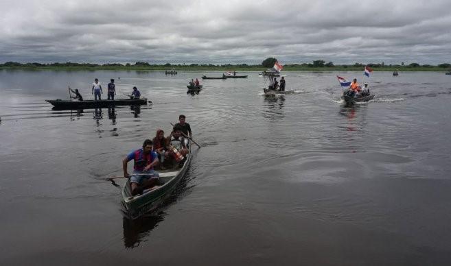 Indígenas Yshir abrieron el paso del río Paraguay