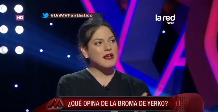 Daniela Vega desdramatiza broma de Yerko Puchento, pero advierte: «Puede ser doloroso para gente con menos experiencia»