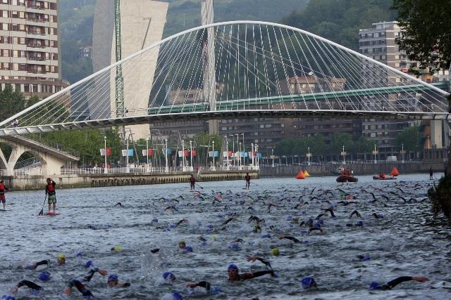 Suspendida la octava edición del Triatlón de Bilbao