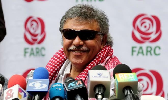 Líder del partido FARC