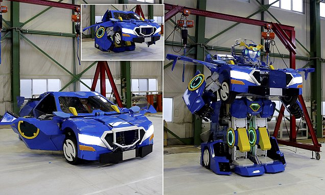 Ingenieros japoneses crean el primer 'autobot' capaz de transformarse a escala real (Video+Fotos)
